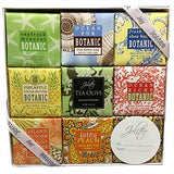 French Milled Botanical Soap Sampler Set in Nine Fabulous Scents (Tropical Beachy)