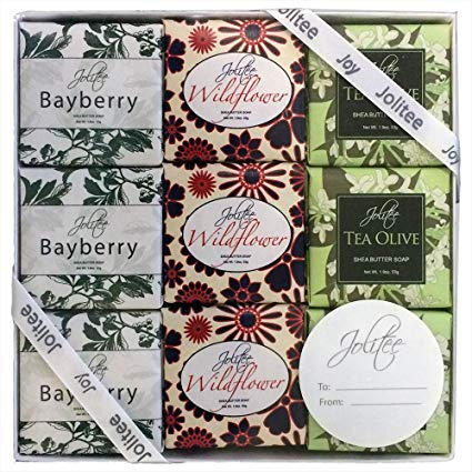 French Milled Botanical Soap Sampler Set in Nine Fabulous Scents (Specialty Assorted)