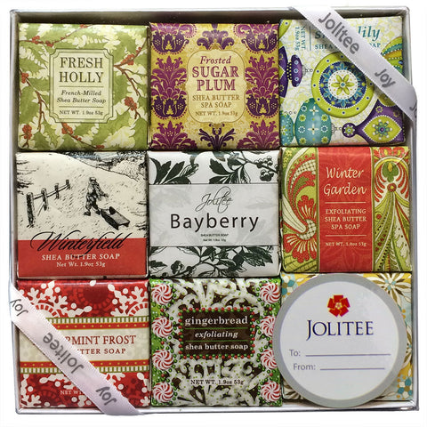 French Milled Botanical Soap Sampler Set in Nine Fabulous Scents (Seasonal Scents)