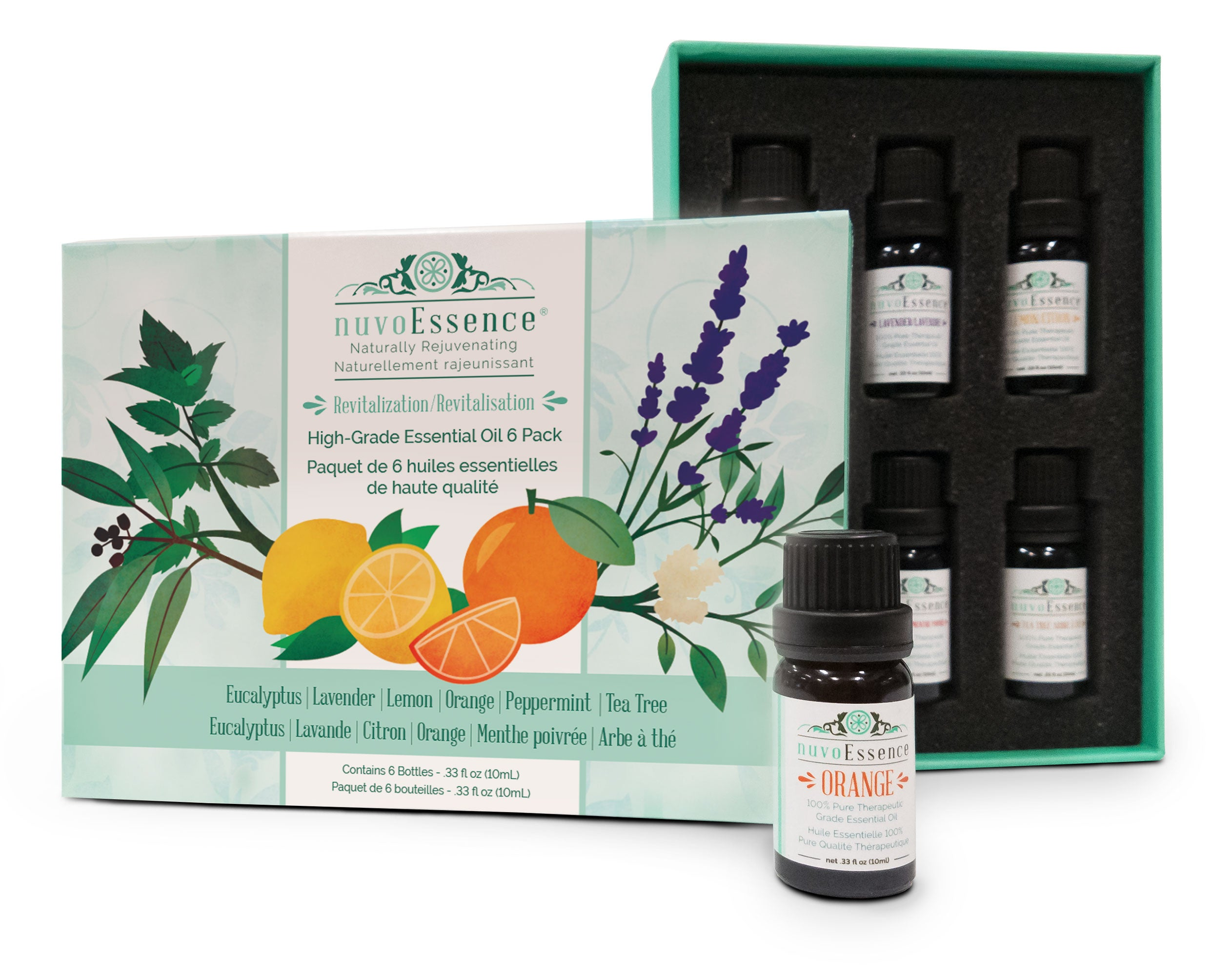 Revitalization Essential Oil Kit (6 Oils)