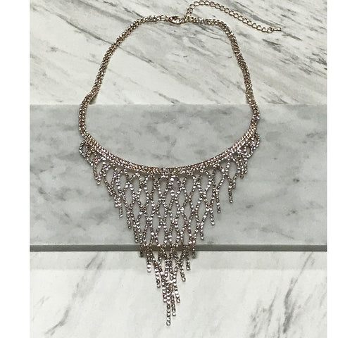 Acacia Bib Necklace
