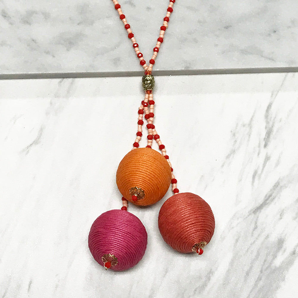 Lydia Ball Necklace