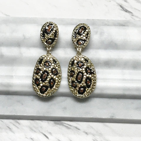 Luana Clip Earrings