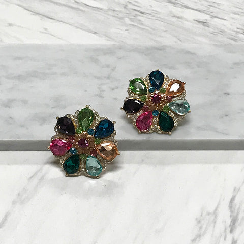 Ansley Clip Earrings