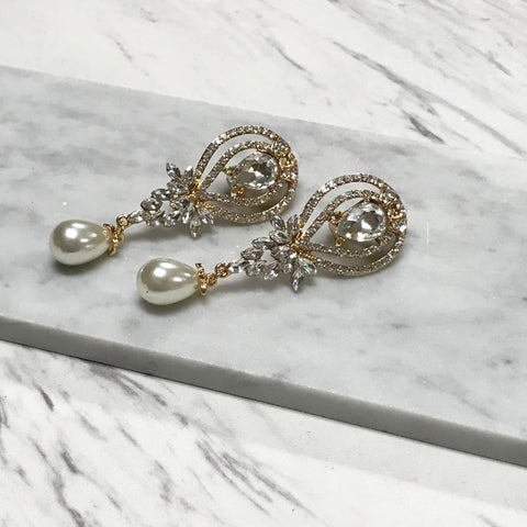 Sybil Clip Earrings