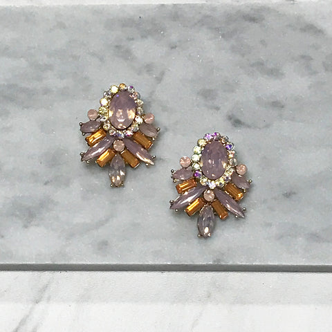 Gina Crystal Earrings