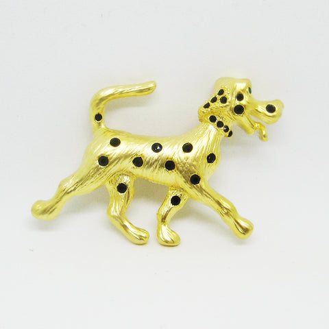 Dalmation Brooch