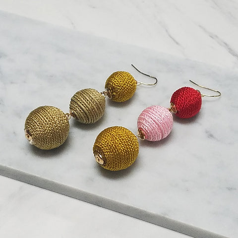 Fia Ball Earrings