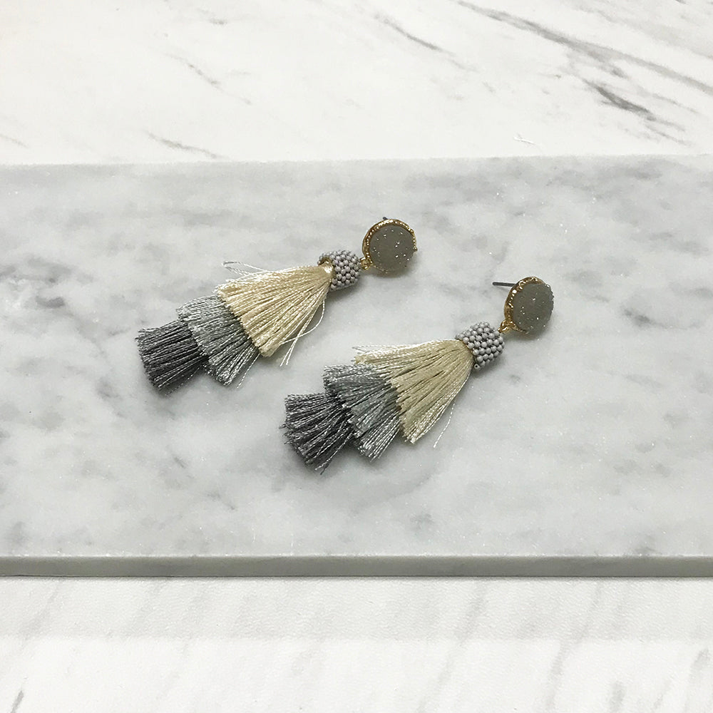 Gillian Tassel Earrings