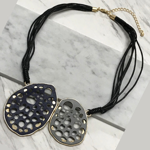 Tess Leather Necklace