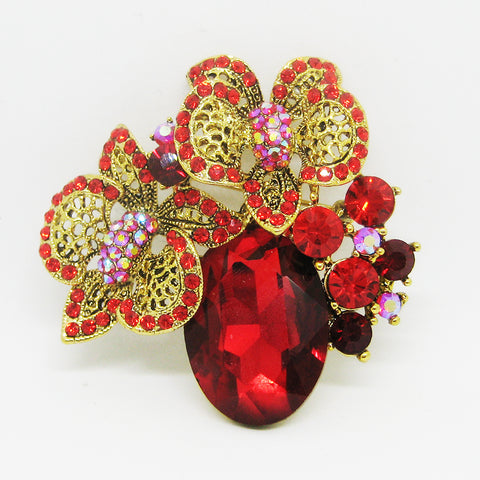 Aria Flower Brooch