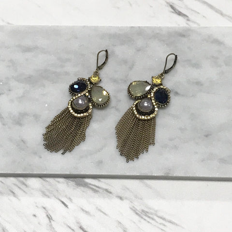 Ersilia Feather Earrings