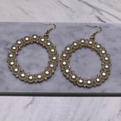 Isabella Pearl Earrings