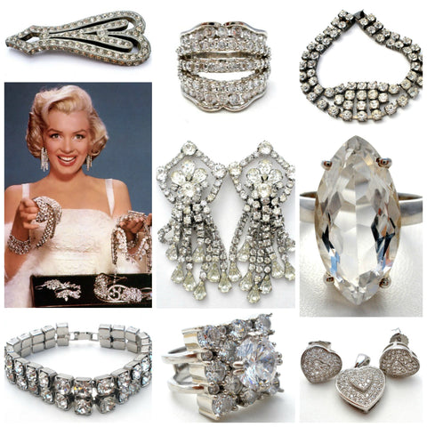 vintage and antique rhinestone jewellery the jewelry lady's store