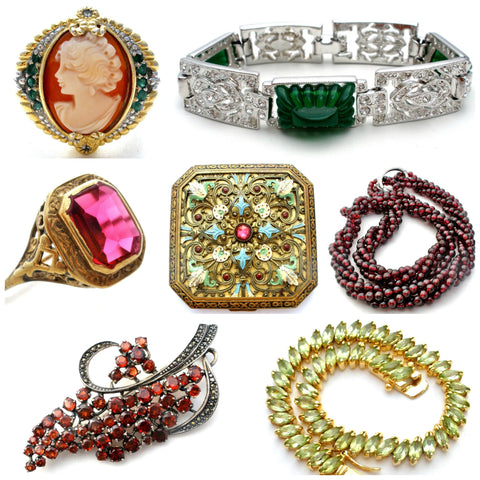 Vintage and antique jewellery the jewelry lady's store