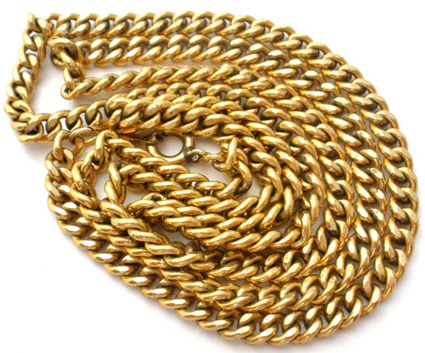12K Gold Filled Chain Necklace by Elka