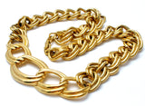 Chunky Napier Link Chain Necklace Vintage - The Jewelry Lady's Store