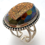 Colleen Lopez Druzy Ring Size 8 - The Jewelry Lady's Store