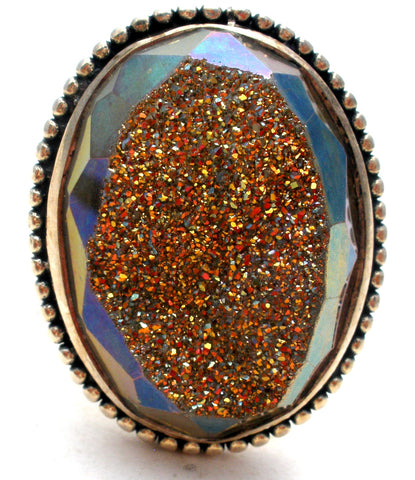 Colleen Lopez Druzy Ring Size 8