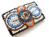 Italian Mosaic Flower Brooch Vintage - The Jewelry Lady's Store