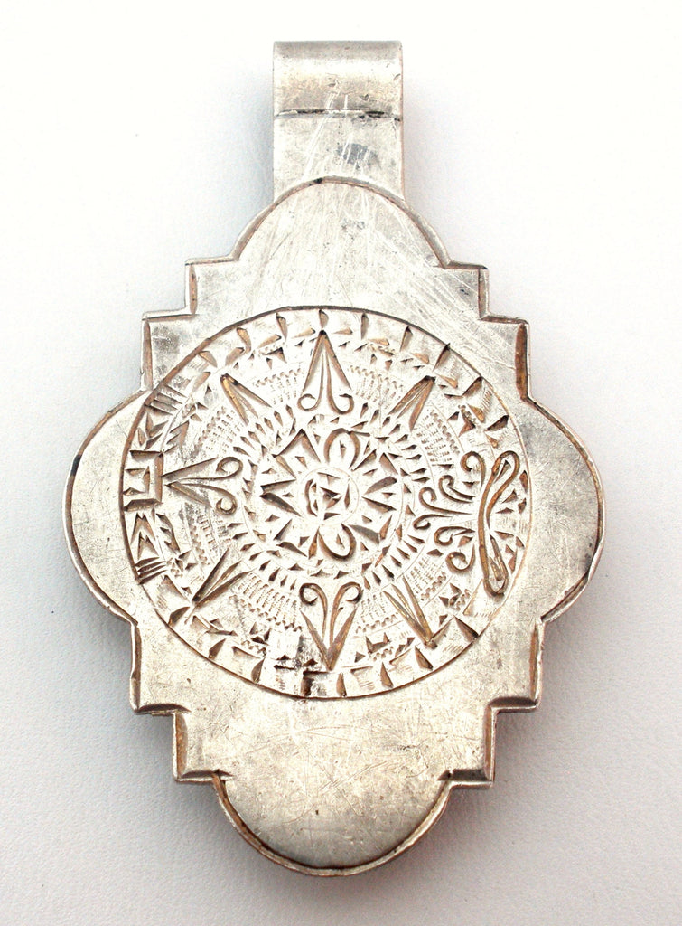 Mexican Mayan Calendar Sterling Silver Money Clip