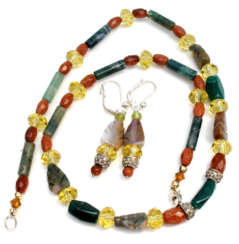 Robert Wagoner Designs Gemstone Necklace Set