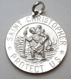 Saint Christopher Charm Medal Italian - The Jewelry Lady's Store