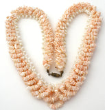 SeaShell & Mother of Pearl Necklace Vintage - The Jewelry Lady's Store
