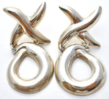 Taxco Hugs & Kisses XO Earrings Sterling Silver - The Jewelry Lady's Store