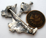 Vintage Mary Engelbreit Sterling Silver Brooch - The Jewelry Lady's Store