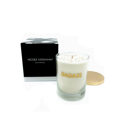 NICOLE SASSAMAN Coconut Wax blend Candles