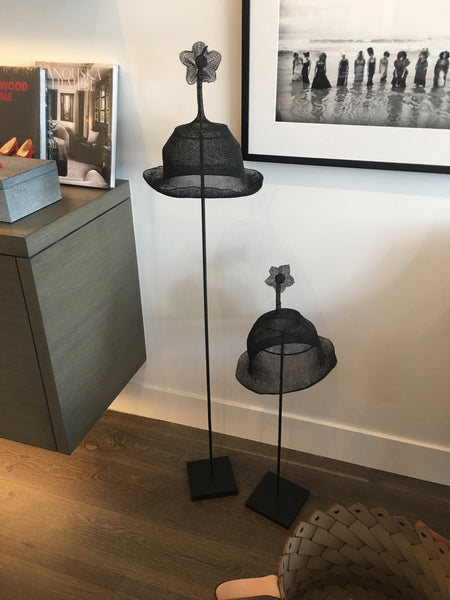 Wire Hat on Stand