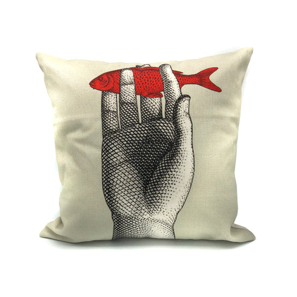 Inspired pillows with woman's features