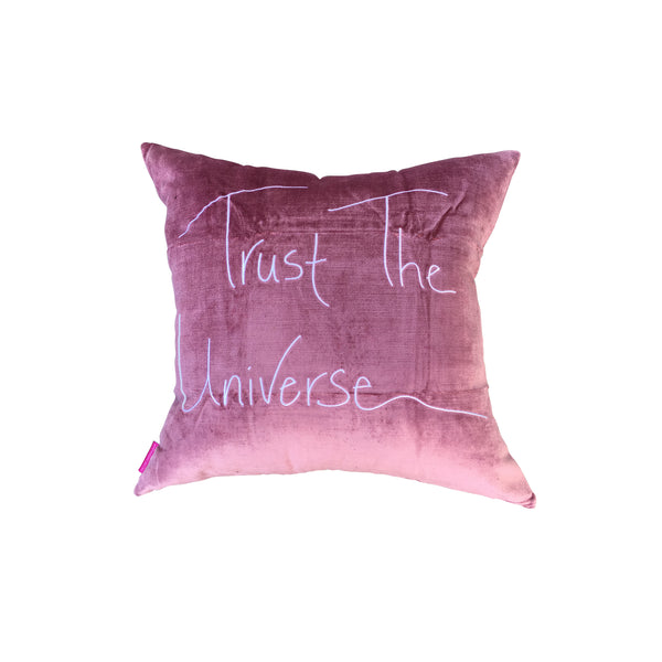 Trust the Universe Butterfly accent pillow