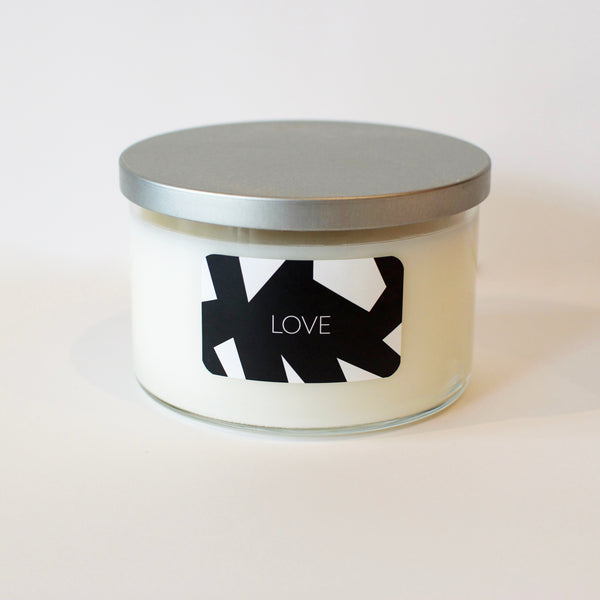 Love, Awareness, Intent  Candle