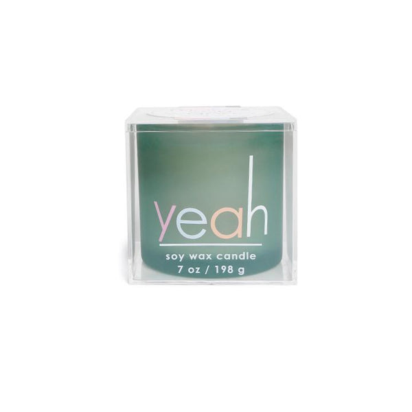 Makes you wanna say...Yeah!  Soy Wax Candles