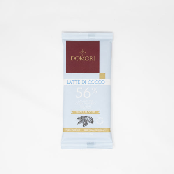 Domori 56% Ivory Coast Cocoa With Coconut Milk