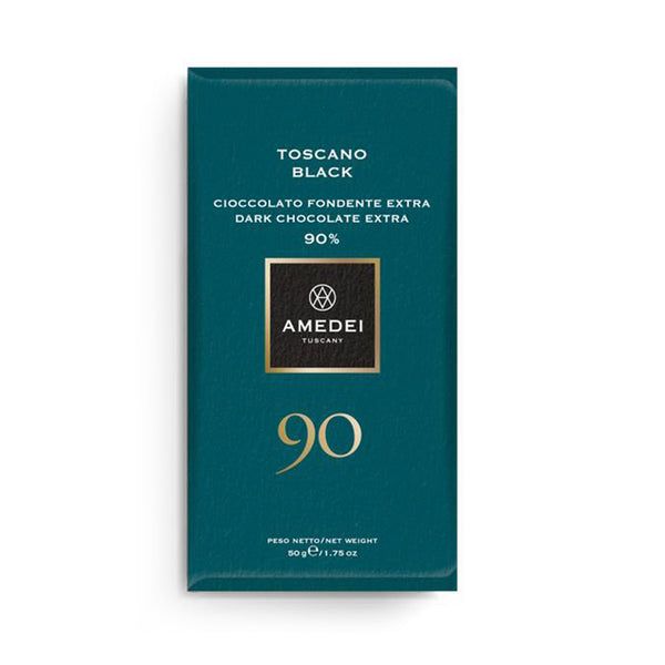 Amedei Toscano Black Dark Chocolate Bar 90% (exp 09/30/2020)