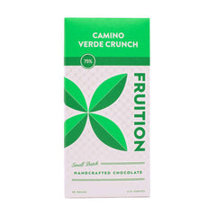 Fruition - Camino Verde Crunch - Rustic Stone-Ground 75% Dark Chocolate