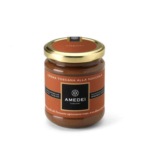 Amedei Crema Toscana - Hazelnut and Chocolate Spread - Gianduja Taste