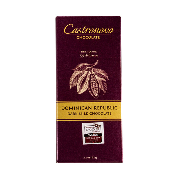 Castronovo Dominican Republic Dark Milk Chocolate 55%
