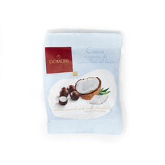 Domori - Dragees Milk chocolate covered Coconut FP