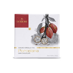 Domori Porcelana Criollo 70 % Dark Chocolate 25gr bar