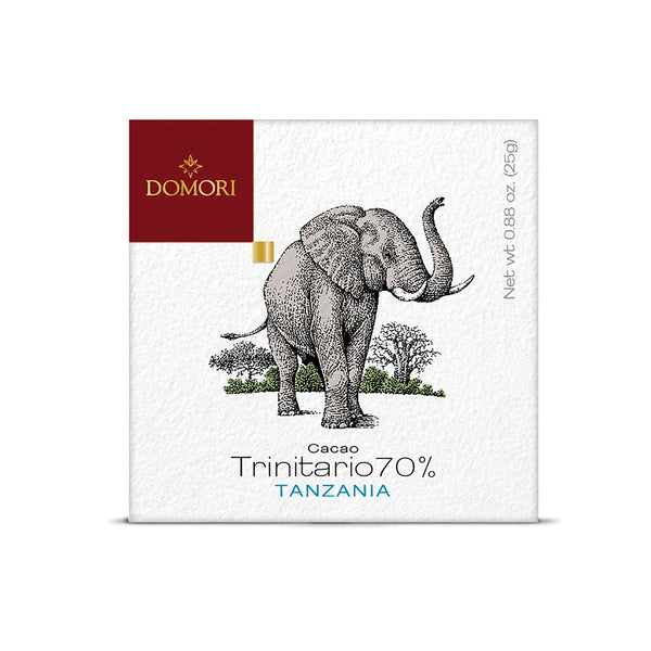 Domori Tanzania 70% Dark Chocolate Bar 25gr