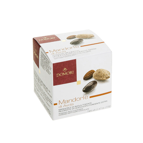 Domori Almonds Covered Dragees With Dark Chocolate