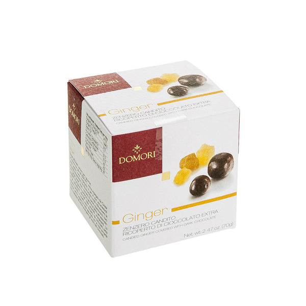 Domori Candied Ginger Covered With Dark Chocolate