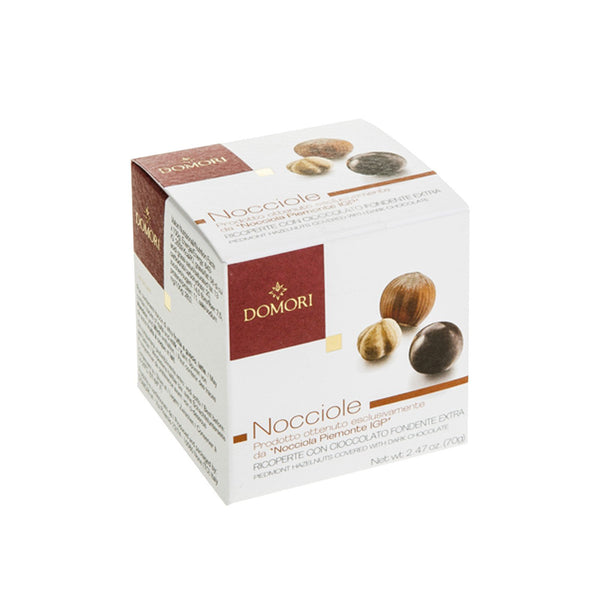Domori Hazelnuts Covered With Dark Chocolate