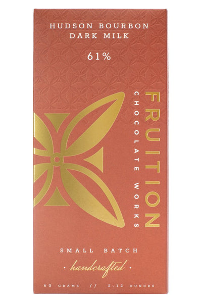 Fruition - Hudson Bourbon Dark Milk, Dominican Republic 61%