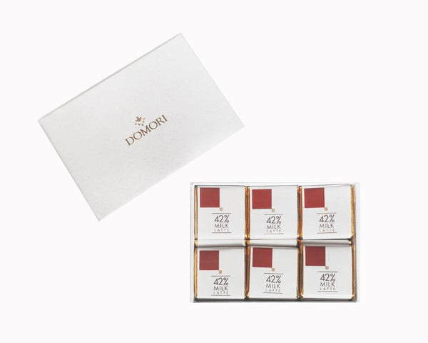 Limited Edition Domori Gift Box 45 - 42% Milk Chocolate Napolitains