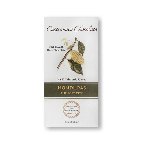 Castronovo Chocolate The Lost City Honduras 72%
